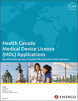 Download white paper - Preparing a Canadian Medical Device License (MDL) Application