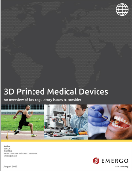3D printed medical devices white paper