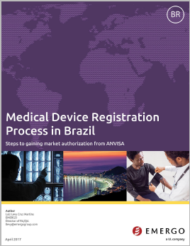 Learn about the Brazilian ANVISA regulations which apply to medical devices