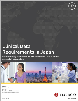 Download our whitepaper about Clinical Data Requirements in Japan