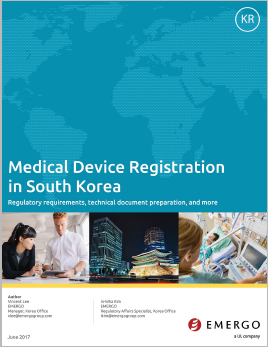 Download our white paper on Medical Device Registration in South Korea