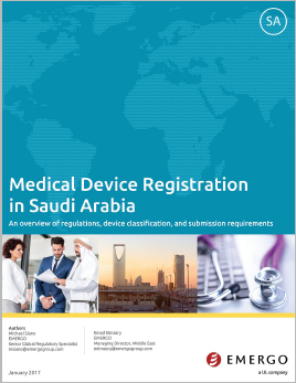 Download the white paper: Medical Device Registration in Saudi Arabia