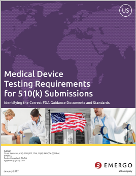 Download our white paper: Medical Device Testing Requirements for 510(k) Submissions