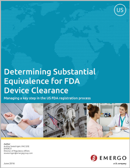Download the white paper: Determining Substantial Equivalence for FDA Device Clearance