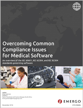 Download the white paper: Overcoming Common Compliance Issues for Medical Software