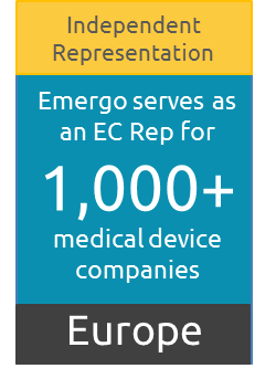 Europe Authorized Representative for over 1,000 medical device companies