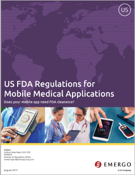 Download our Whitepaper about US FDA Regulations for Mobile Medical Applications