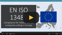Free video: Introduction to ISO 13485 compliance for Europe