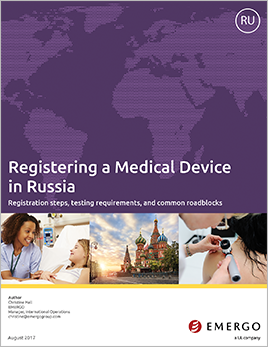 Download our white paper on Medical Device Registration in Russia