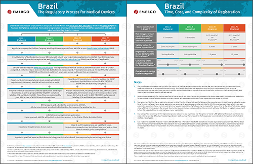 Download the Chart on the Medical Device Approval Process in Brazil