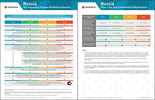 Download the Chart on the Medical Device Approval Process in Russia