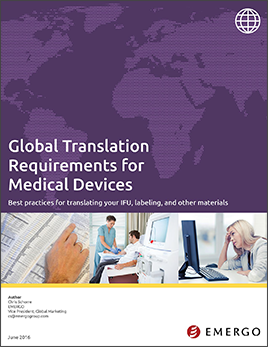 Download our whitepaper about translation requirements for IFUs and labling