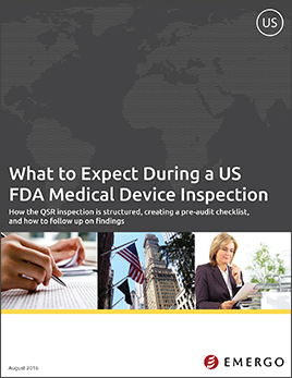 Download white paper - What to Expect During USA QSR Inspections